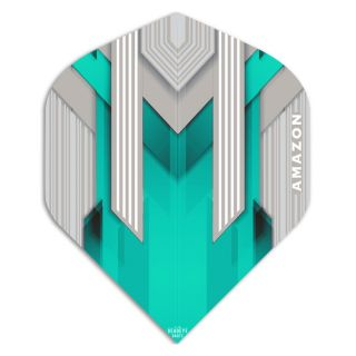 Amazon Silver Dart Flights - Aqua