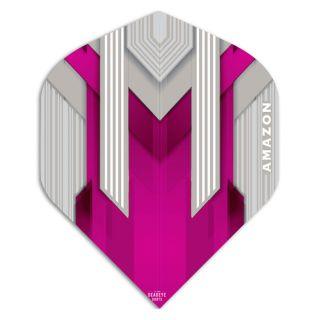 Amazon Silver Dart Flights - Pink