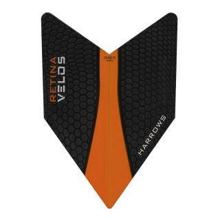 Velos Dart Flights - Retina Orange