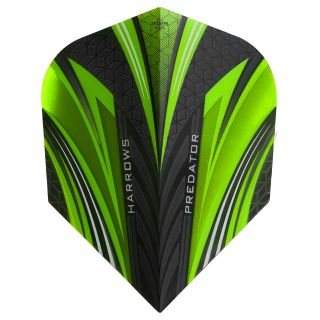 Harrows Prime Dart Flights - Predator Green