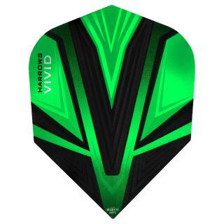 Vivid Dart Flights - Green