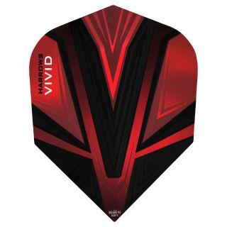 Vivid Dart Flights - Red