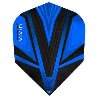 Vivid Dart Flights - Blue