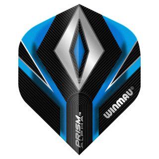 Winmau Prism Alpha Standard Dart Flights - Blue - F0265
