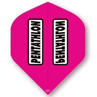 Pentathlon Magenta Standard Dart Flights - F0313