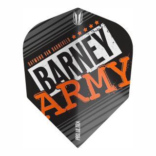RVB Barney Army Black Pro Ultra No6 Flights - F0363