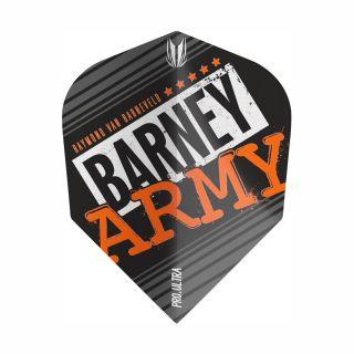 RVB Barney Army Black Pro Ultra TenX Flights - F0364