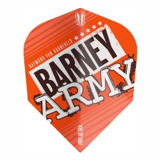 RVB Barney Army Orange Pro Ultra No6 Flights - F0373