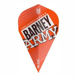 RVB Barney Army Orange Pro Ultra Vapor Flights - F0375