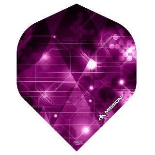 Mission Astral Dart Flights - Pink No 2 Standard - F0629