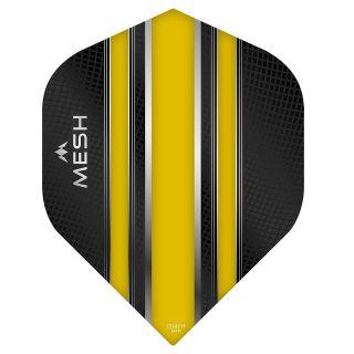 Mission Mesh Dart Flights - No 2 Standard - Yellow