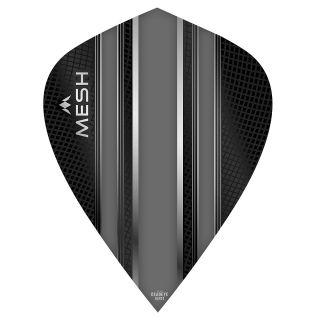 Mission Mesh Dart Flights - Kite - Grey - F0673
