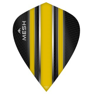 Mission Mesh Dart Flights - Kite - Yellow - F0674
