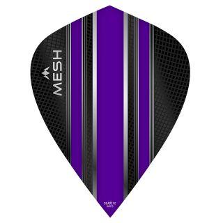 Mission Mesh Dart Flights - Kite - Purple - F0676