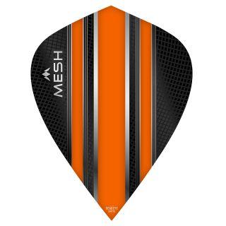 Mission Mesh Dart Flights - Kite - Orange - F0677