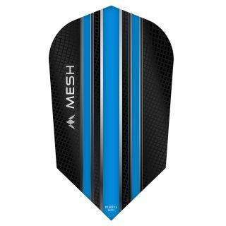 Mission Mesh Dart Flights - Slim - Aqua Blue - F0680