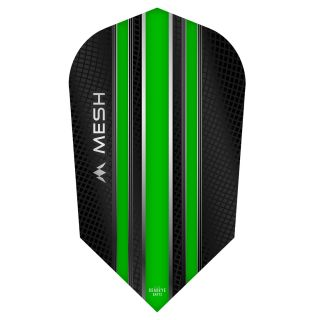 Mission Mesh Dart Flights - Slim - Green - F0681