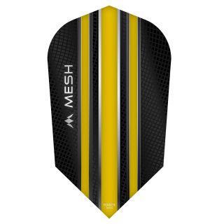 Mission Mesh Dart Flights - Slim - Yellow - F0683