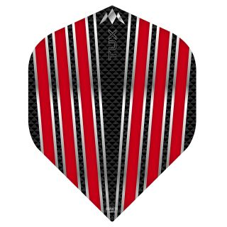 Mission Tux Dart Flights - No 2 Standard - Red - F0697