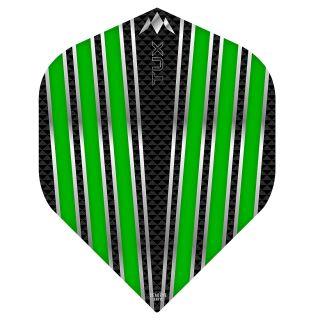 Mission Tux Dart Flights - No 2 Standard - Green - F0699