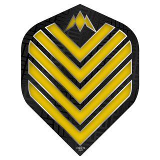 Mission Admiral Dart Flights - No 2 Standard - Yellow - F0710