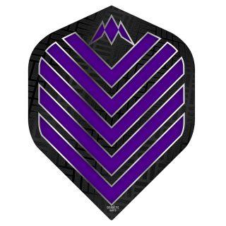 Mission Admiral Dart Flights - No 2 Standard - Purple - F0712