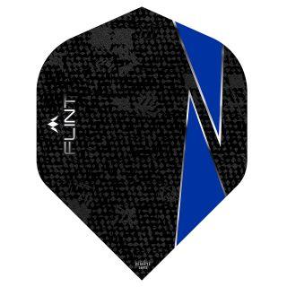 Mission Flint Dart Flights - No 2 Standard - Blue - F0715