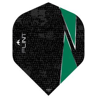 Mission Flint Dart Flights - No 2 Standard - Green - F0718