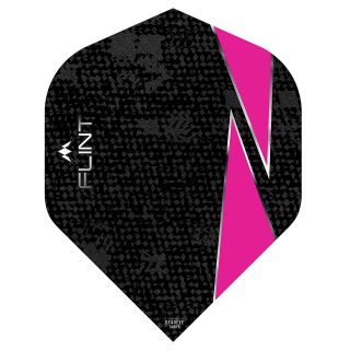 Mission Flint Dart Flights - No 2 Standard - Pink - F0721