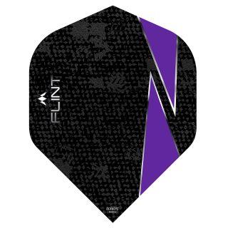 Mission Flint Dart Flights - No 2 Standard - Purple - F0722
