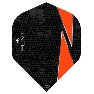 Mission Flint Dart Flights - No 2 Standard - Orange - F0723