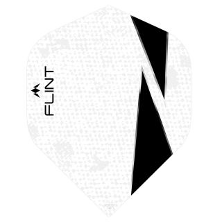 Mission Flint-X Dart Flights - No 2 Standard - White - F0726