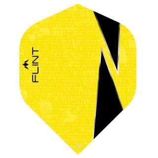 Mission Flint-X Dart Flights - No 2 Standard - Yellow - F0729