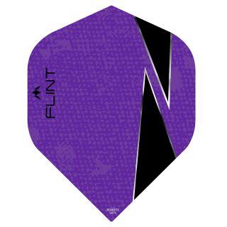 Mission Flint-X Dart Flights - No 2 Standard - Purple - F0731