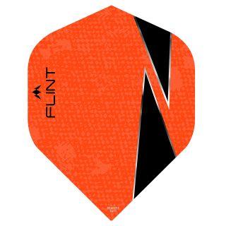 Mission Flint-X Dart Flights - No 2 Standard - Orange - F0732