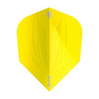 Target ID Pro Ultra Yellow Ten-X Flights - F0826