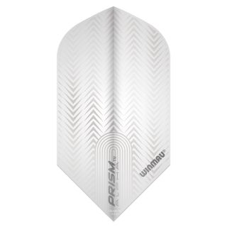 Winmau Prism Delta Slim Dart Flights - White - F0864