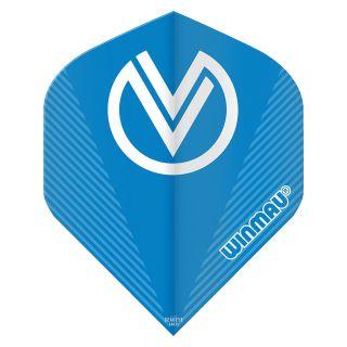 Winmau Prism Delta VvdV Dart Flights - Blue- F0932
