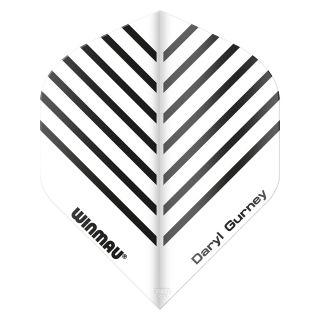 Winmau Specialist Players Daryl Gurney Dart Flights - White - F0933