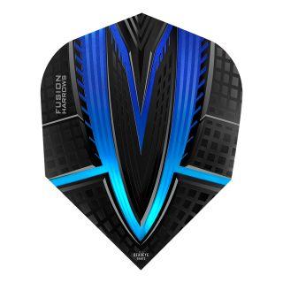 Harrows Fusion Dart Flights - Blue - F1150