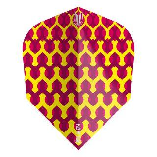 Target - Fabric Dart Flights - Yellow - No.6 - F1346