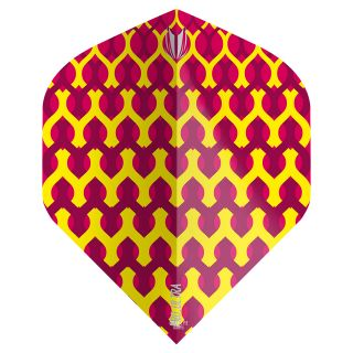 Target - Fabric Dart Flights - Yellow - No.2 - F1347