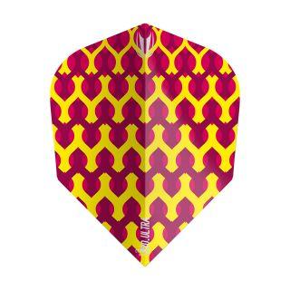 Target - Fabric Dart Flights - Yellow - TEN-X - F1348
