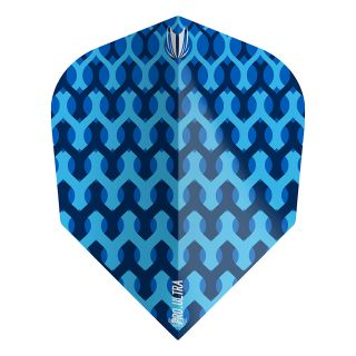 Target - Fabric Dart Flights - Blue - No.6 - F1352