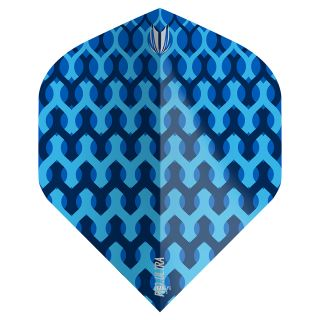 Target - Fabric Dart Flights - Blue - No.2 - F1353