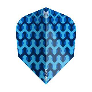 Target - Fabric Dart Flights - Blue - TEN-X - F1354