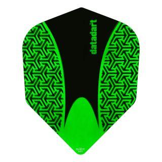 Datadart 15ZRO - Green -150 Micron Dart Flights - F1418