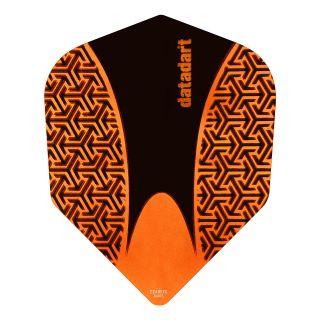 Datadart 15ZRO - Orange -150 Micron Dart Flights - F1419
