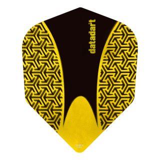Datadart 15ZRO - Yellow -150 Micron Dart Flights - F1421