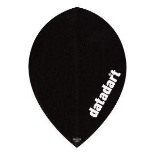 Datadart CMF - Pear - Plain Black Dart Flights - F1432